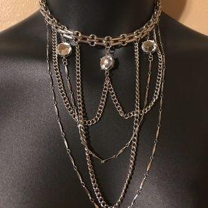 Draped Chain Choker